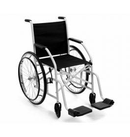 Doar Cadeira Rodas CDS 85Kg Pneu Maciço Preta
