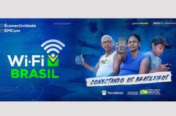 Programa WiFi Brasil será ampliado em 1 mil novos municípios